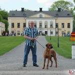 Tomas and Dexter at Taxinge Castle