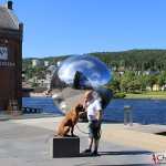 Dexter and Tomas at Drammenriver