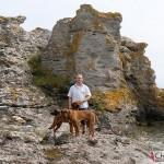 Tomas, Argos & Dexter at the limestones