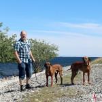 Tomas, Argos & Dexter at Asunden