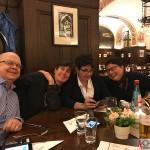 Tomas, Nanzy, Elisabeth & Solveig at Auerbachs Keller