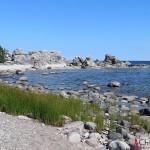 The limestones by the Baltic Sea at Ljugarn