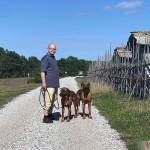 Tomas, Argos & Dexter in Kovik